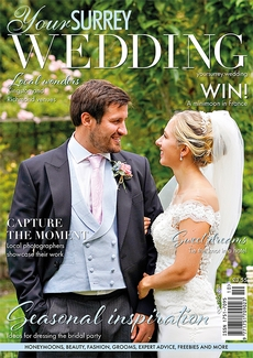 Cover of the October/November 2021 issue of Your Surrey Wedding magazine