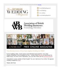 Your East Anglian Wedding magazine - May 2021 newsletter