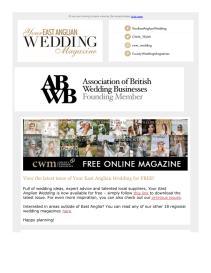 Your East Anglian Wedding magazine - September 2021 newsletter