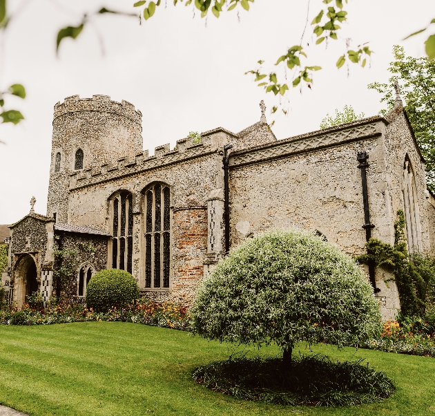 Medieval church at Hengrave Hall